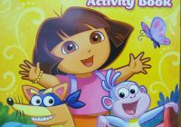 Christmas Jumbo Coloring Books With Amazon Com Dora The Explorer And Activity Book Toy