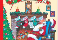 Christmas Jumbo Coloring Books With Twas The Night Before Really Big Book