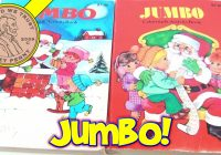 Christmas Jumbo Coloring Books With Vintage 70 S Activity Creative Color