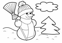 Christmas Leaves Coloring Pages With