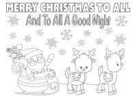 Christmas List Coloring Sheets With Page 8 5×11 Instant Download Printable Etsy