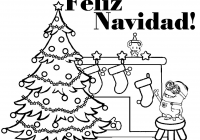 Christmas Minion Coloring Pages With