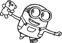 Christmas Minion Coloring Pages With Baby Minions Nazly Me