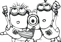 Christmas Minion Coloring Pages With Santa Copy Best Of Diyouth Me