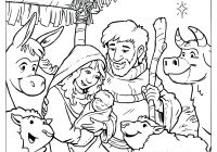 Christmas Nativity Coloring Pages For Adults With To Print Free Books