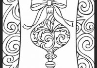 Christmas Ornament – Christmas Decorations Coloring Pages – Coloring ..