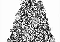 Christmas Ornaments Coloring Pages For Adults With High End Tree Fresh Ornament