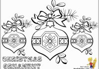 Christmas Ornaments Coloring Pages For Adults With Printable