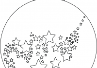 Christmas Ornaments Coloring Pages Printable With Ornament Page Free