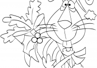 Christmas Rabbit Coloring Pages With Carrot Page Free Printable