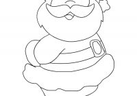 Christmas Santa Claus Coloring Pages With For Kids