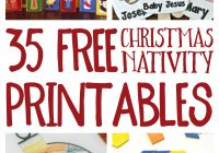 Christmas Story Coloring Pages Nativity With Free Printables And
