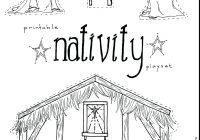 Christmas Story Coloring Pages Nativity With Stable Page Fiscalreform Throughout