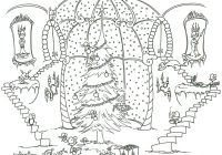 Christmas Tree Coloring Pages For Adults With Best Kids