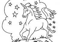 Christmas Unicorn Coloring Pages With Print Download For Children