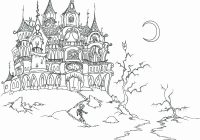 Christmas Village Coloring Pages Printable With Free Houses Bluebison