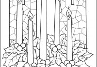 Christmas Wreath Coloring Pages To Print With Advent Printable 1908592