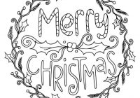 Christmas Wreath Coloring Pages With Simple Drawing Beautiful Wreaths