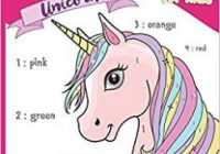 Color by Number Unicorn for Kids: A Coloring Books for Kids Ages 18  ..