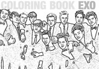 COLORING BOOK EXO – Kpoplicious – exo coloring book