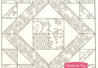Coloring Book Quilt Patterns | Coloring Pages – quilt coloring book
