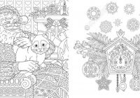 coloring ~ Christmas Coloring Book Colouring Pages Santa Claus With ..