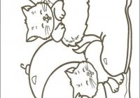 Coloring page : Christmas cats – Coloring.me | For Jenna | Christmas ..