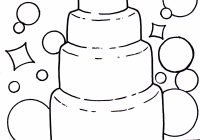 Coloring picture :Wedding cake colouring pages,wedding coloring ..