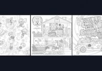 Colouring Book : EXO : A DAY IN EXOPLANET – exo coloring book