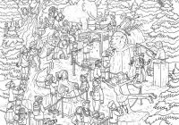 Complicated Christmas Coloring Pages Difficult Beautiful – KidColorings – Christmas Coloring Difficult