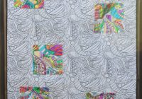 Create a Deco Foil Coloring Book Quilt – Therm O Web – quilters coloring book