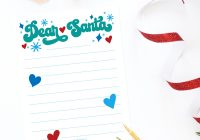 Dear Santa Coloring Pages Print With Free Printable Letter Dawn Nicole Designs