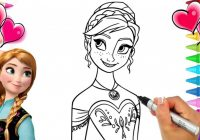 Disney Frozen 18 Anna Coloring Page | Frozen Coloring Book | Anna and ..