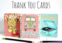 DIY Coloring Book Page Thank You Cards | FaveCrafts