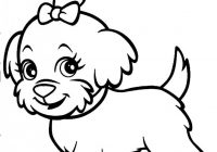Dog Coloring Book #19 – dog coloring book