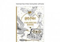 Download Harry Potter Coloring Book pDf books – harry potter coloring book pdf
