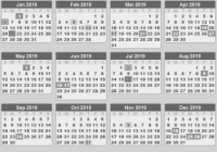 editable school holiday calendar 19 uk pdf. free school holidays ..