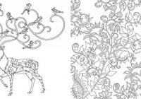 Enchanted Forest: An Inky Quest  – enchanted forest coloring book