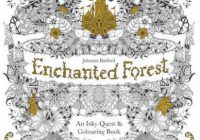 Enchanted Forest by Johanna Basford | Waterstones – enchanted forest coloring book