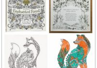Enchanted Forest Coloring Book ing Book High Copy Enchanted Forest ..