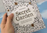 English Edition Secret Garden 19 Sheets Cards Coloring Books For ..