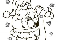 Face Of Santa Claus Coloring Pages With Printable Book And Beard Page