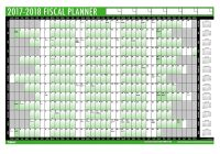 Fiscal Year 2019 Accounting Calendar With Tallon Wall Planner 2018 19 Amazon Co Uk Office Products