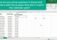 Fiscal Year 2019 Calendar With Excel Choose Month Function For Quarters Where Is Not Chris Menard