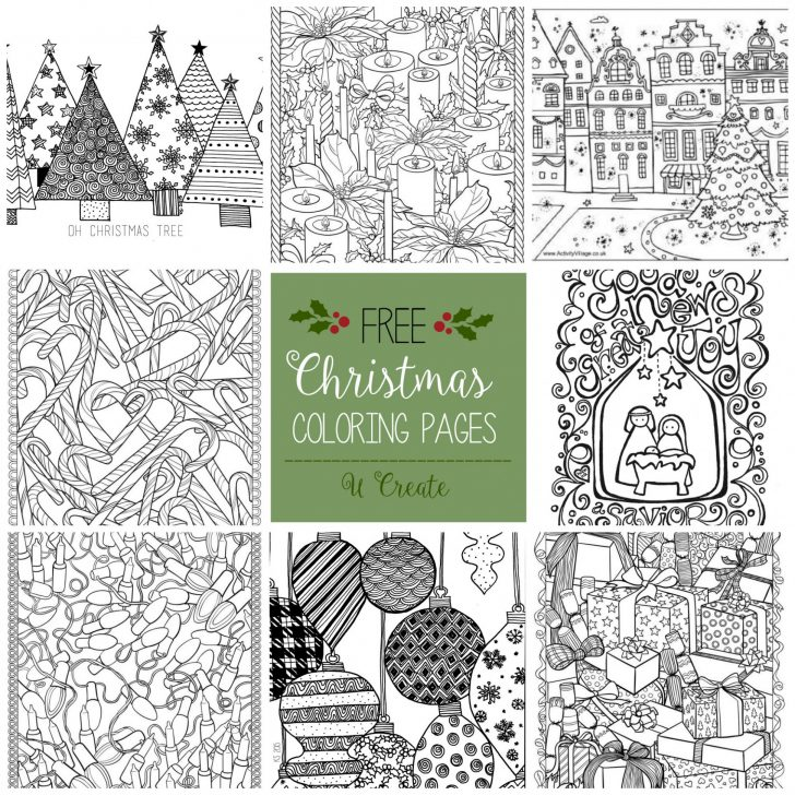 Permalink to Christmas Coloring Images Free graphic