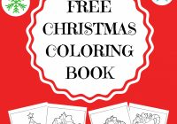 FREE CHRISTMAS COLORING BOOK – KidloLand – Christmas Coloring Toddlers