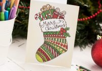Free Christmas Coloring Card – Sarah Renae Clark – Coloring Book ..