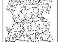 Free Christmas Coloring Math Worksheets With Pages