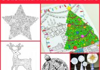 Free Christmas Coloring Pages for Adults – Crafts on Sea – Free Christmas Colouring Pages Uk