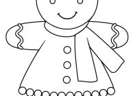 Free Christmas Coloring Pages Gingerbread Man With Pin By Chrissy Geboe On Pinterest